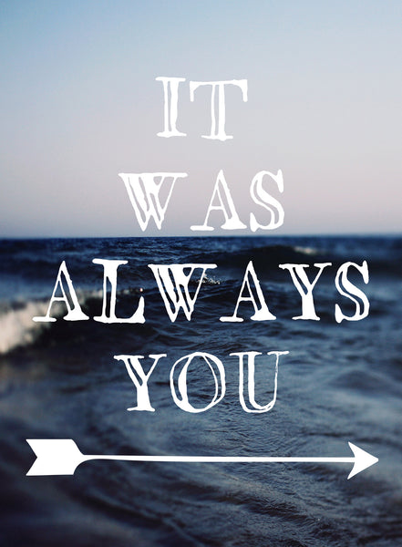 It Was Always You - Card