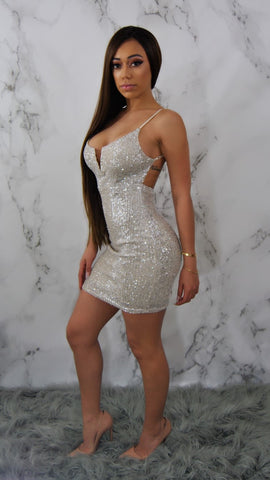 FROSTY MINI DRESS