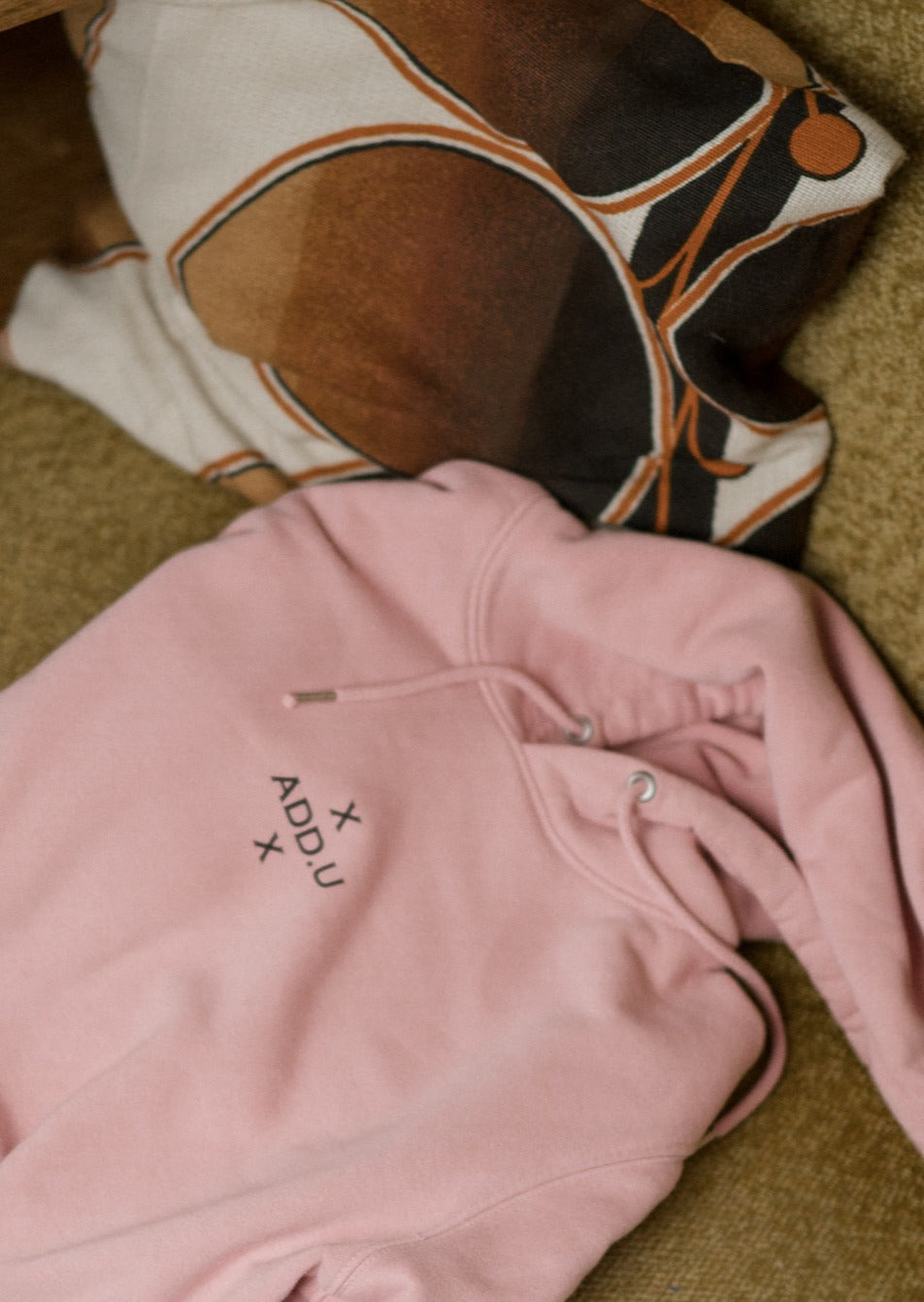 Canyon Pink hoodie ADD.U dames