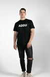 Long T-shirt black / men