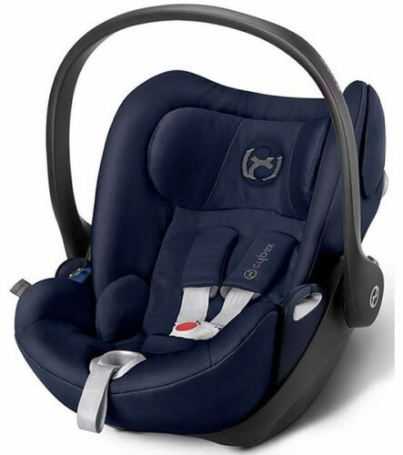 Cybex Cloud Q Plus Infant Baby Car Seat With Reclining Backrest & Base With Load Leg