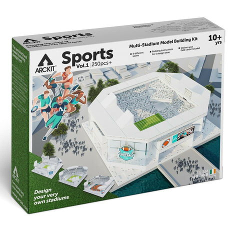 Sports Stadium Scale Model Building Kit Volume 1 Kids Play