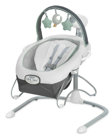 Soothe 'n Sway LX Swing with Portable Bouncer Derby