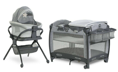 Pack 'n Play Day2Dream Bassinet Deluxe Playard Beau