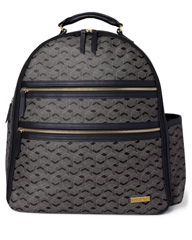 Saffiano Diaper Backpack