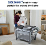 Graco Baby Pack 'n Play Quick Connect Portable Seat DLX Playard