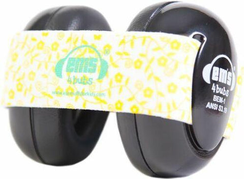 Earmuffs Headphones Lemon Floral