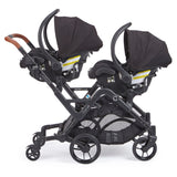 Contours Curve Twin Double Baby Stroller Graphite Gray