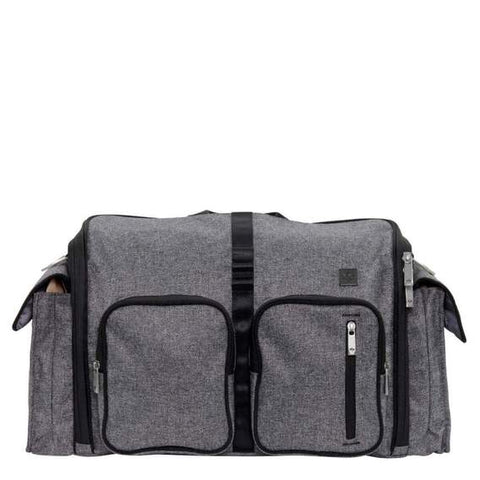 Baby Diaper Bag Gray Matter