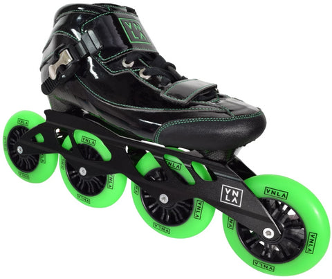 RC Sports Vnla Loco Verde Inline Skate Heat Moldable Boot