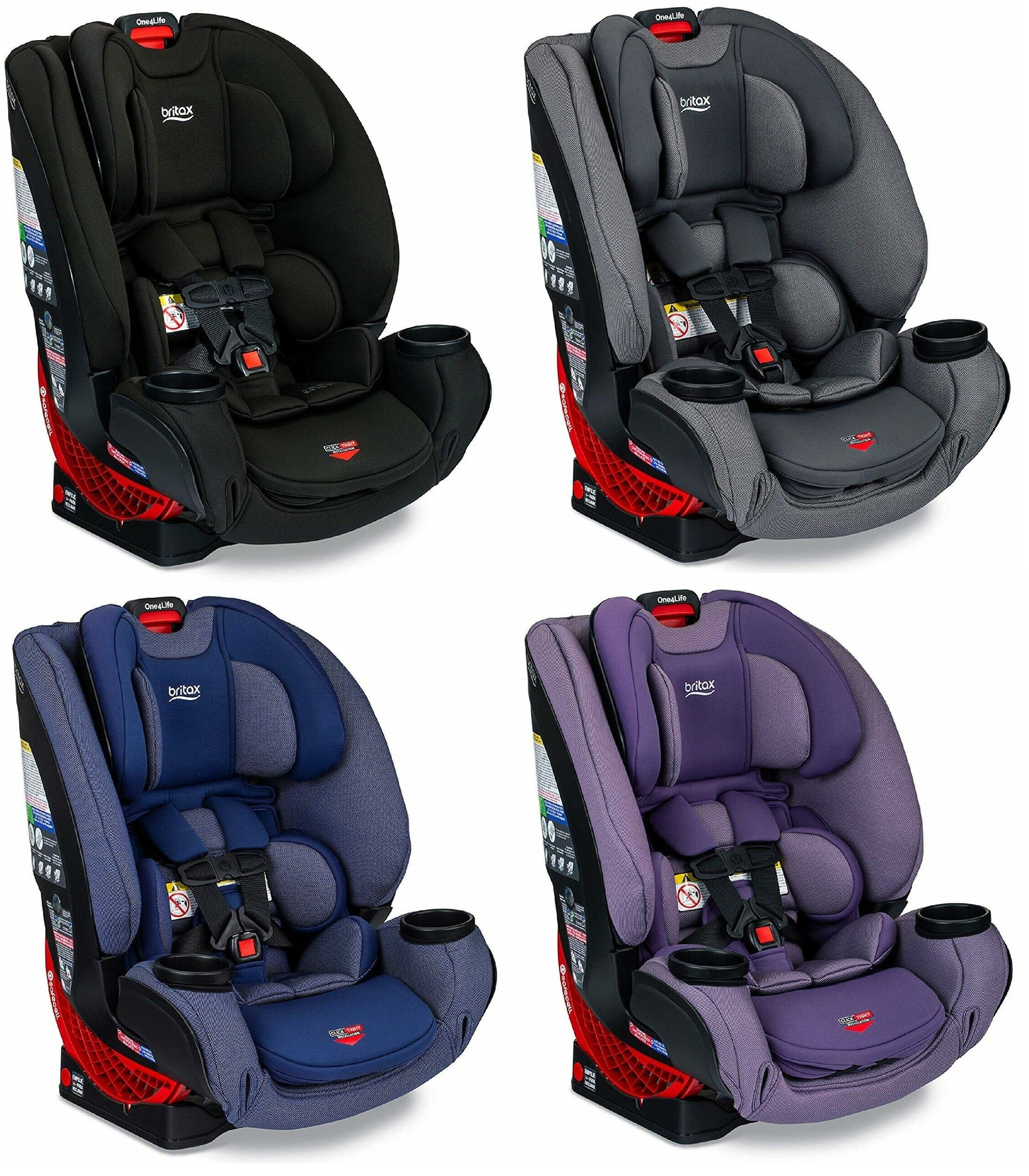 Awe Inspiring Britax One4Life Clicktight All In One Convertible Car Seat Eclipse Black Pdpeps Interior Chair Design Pdpepsorg