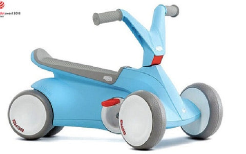 Car Go Kart Ride Blue