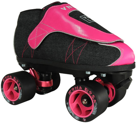RC Sports Vnla Junior Zona Rosa skate Roller Black and Pink