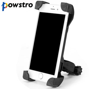 Bike Bicycle Motorcycle Handlebar Clip Stand Phone Holder Bracket Mount Shockproof