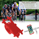 Powstro Silicone Bike Bicycle Handlebar Cell Phone Holder