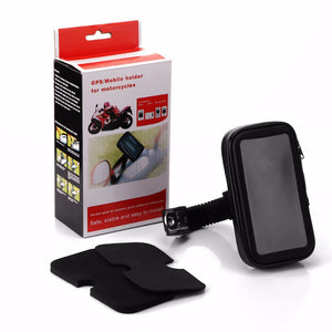 Bike Bicycle Waterproof Cell Phone Bag Holder Motorcycle Mount Phone Stand