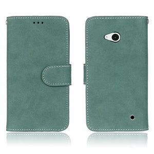 Flip Wallet Leather Case Cover