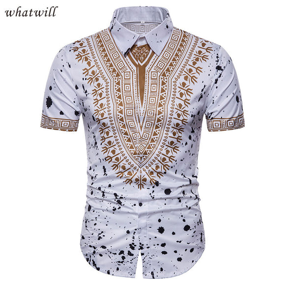 3d african clothes dashiki printed shirts