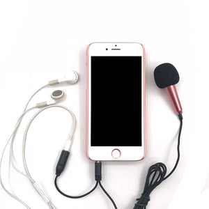 Audio Microphone For the Smart Phones. Desktops