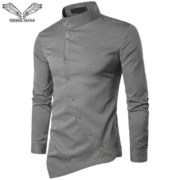 Men's Cotton Long Sleeved Shirt