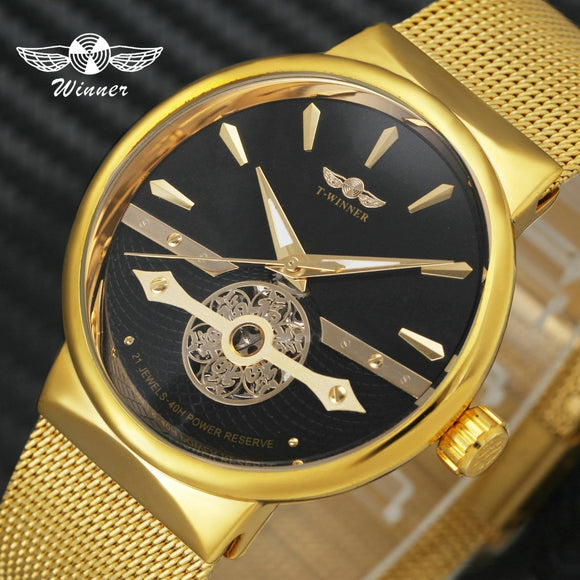 WINNER Fashion Classic Men Auto Mechanical Watch