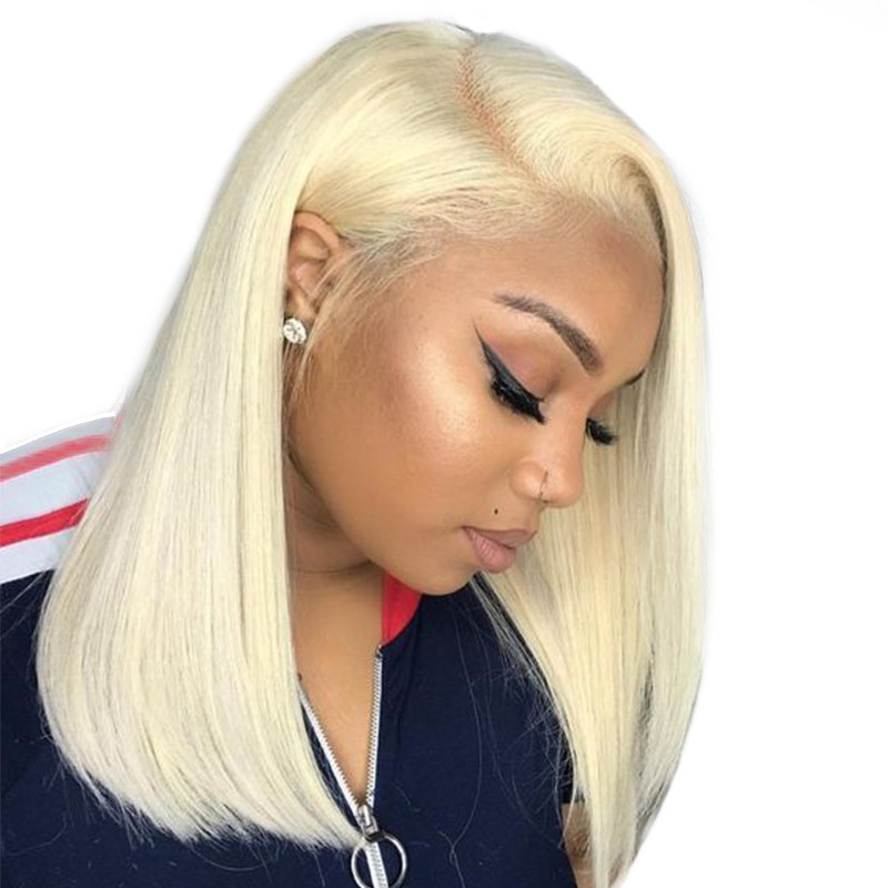 You should get a colorful bob wig for this summer