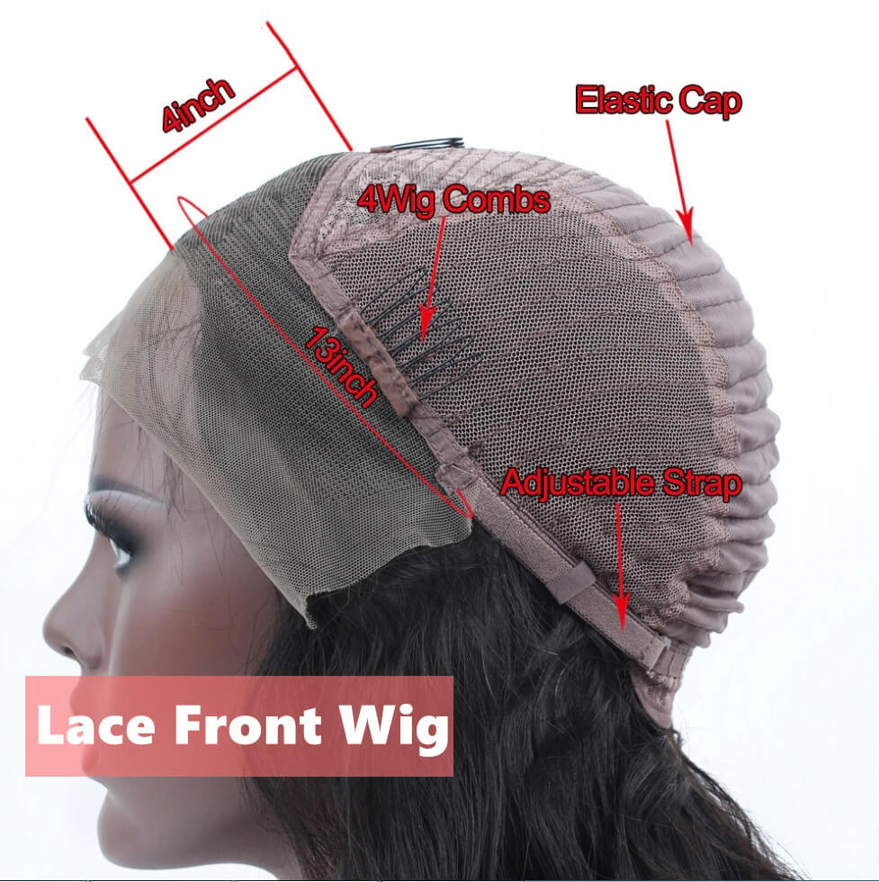 Wavy Bob Lace Closure/Frontal Wigs