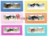25mm long dramatic volume 3D mink lashes eyelash 3/10/20pairs