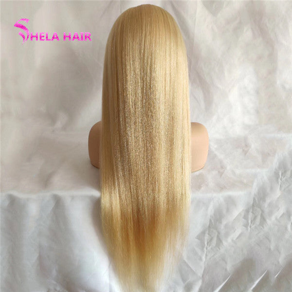 #613 Blonde 4x4 Lace Closure Wig Straight Shela Hair