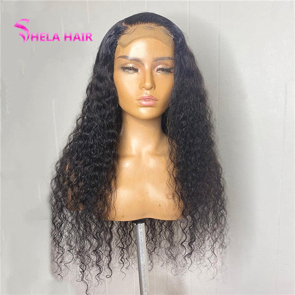 Deep Wave 4x4 5x5 Lace Closure Wig