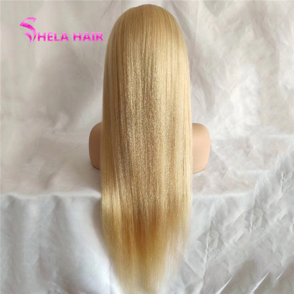 13x6 Deep Part #613 Blonde Lace Front Wig Straight/Body Wave/Deep Wave/Loose Wave