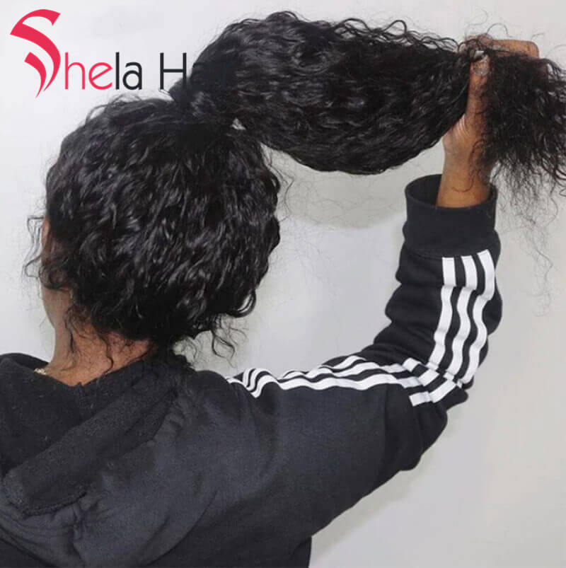 Full Lace Wig High Density Wigs 180% 200% 220% Deep Wave Shela Hair