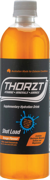 THORZT LIQUID CONCENTRATE ORANGE 600ML BOTTLE - Thorzt Hydration - Best Buy Trade Supplies Direct to Trade