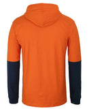 JB's Hi Vis Long Sleeve Cotton Tee with Hood