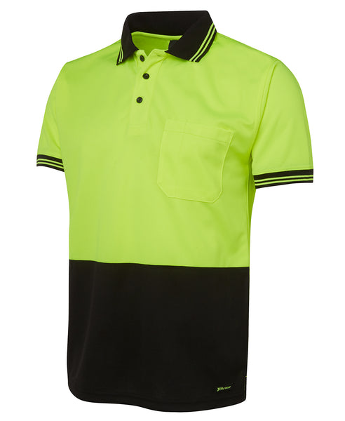 JB's Hi Vis Short Sleeve Traditional Polo