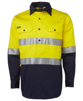JB's Hi Vis (D+N) 190g Close Front Shirt Long Sleeve - hi vis clothing - Best Buy Trade Supplies Direct to Trade