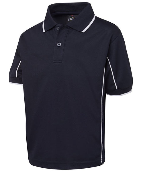 JB's Podium Kids Short Sleeve Piping Polo - Workwear - Shirts & Jumpers - Best Buy Trade Supplies Direct to Trade