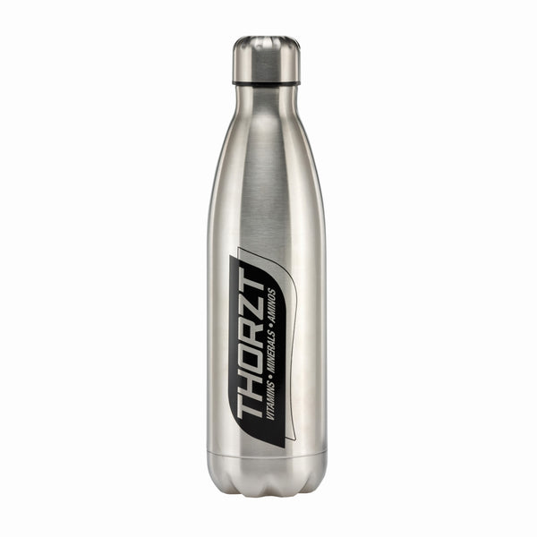 THORZT 750mL STAINLESS STEEL DRINK BOTTLE - SILVER - Thorzt Hydration - Best Buy Trade Supplies Direct to Trade