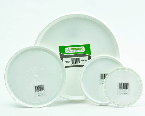 Moemic Barcoded Plastic Lid