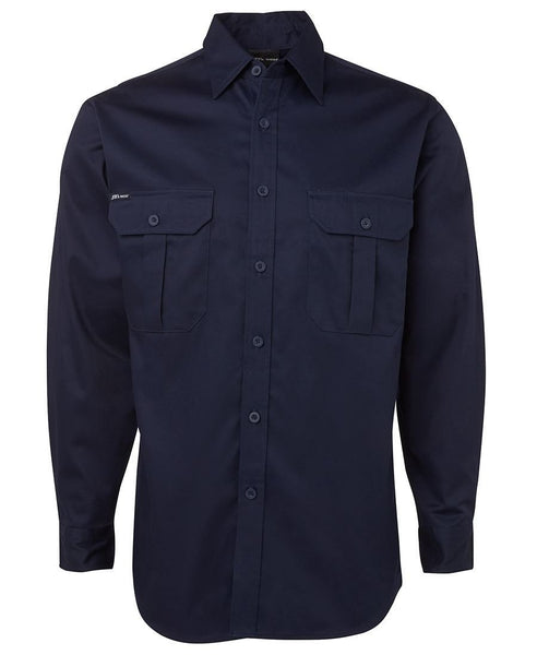 JB's 190G Work Shirt Long Sleeve - Workwear - Shirts & Jumpers - Best Buy Trade Supplies Direct to Trade