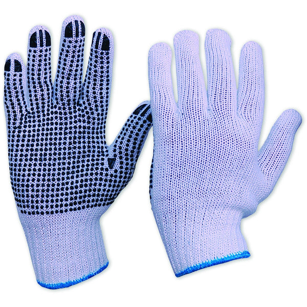 Pro Choice Knitted Poly/Cotton Gloves with Dots Mens - Gloves - Best Buy Trade Supplies Direct to Trade