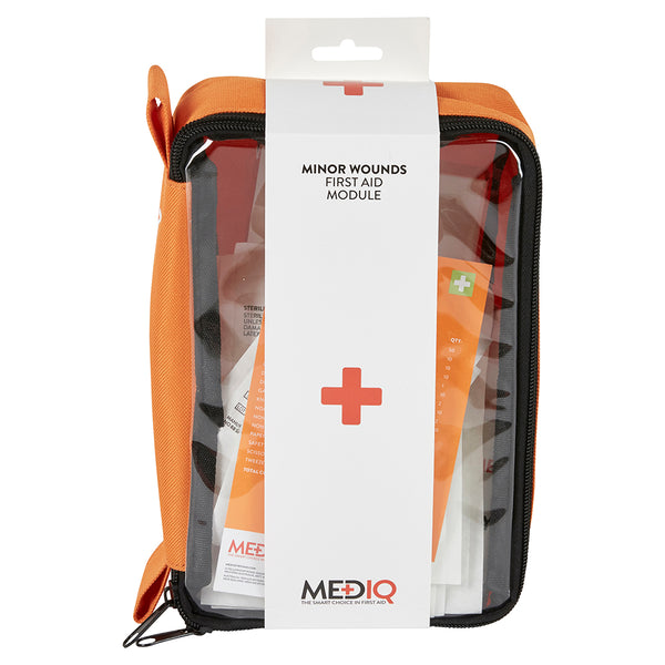Mediq Incident Ready First Aid Module Minor Wounds in Orange Softpack