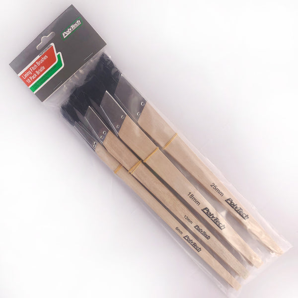 Polytech Lining Fitch(Bristle) 10 Pack ( Ask Us For a Bulk Deal) - Paint Accessories - Best Buy Trade Supplies Direct to Trade