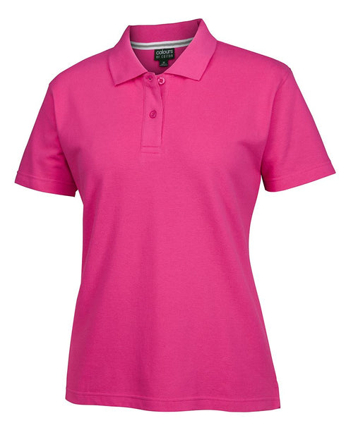 C OF C LADIES PIQUE POLO HOT PINK - 10 - Workwear - Shirts & Jumpers - Best Buy Trade Supplies Direct to Trade