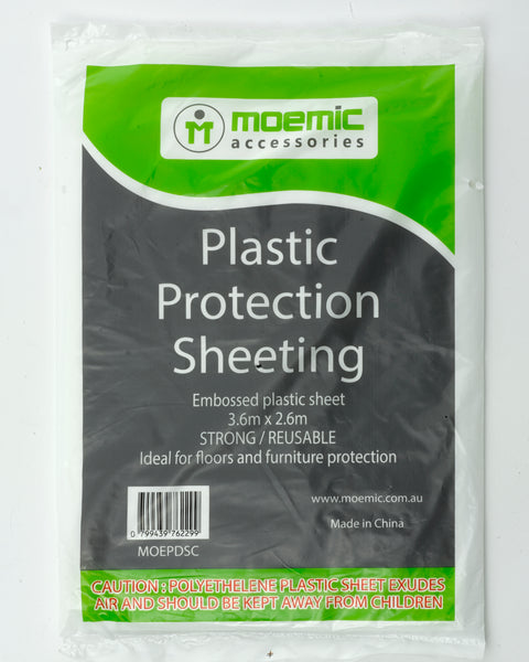 Moemic Plastic Drop Sheet - Paint Accessories - Best Buy Trade Supplies Direct to Trade
