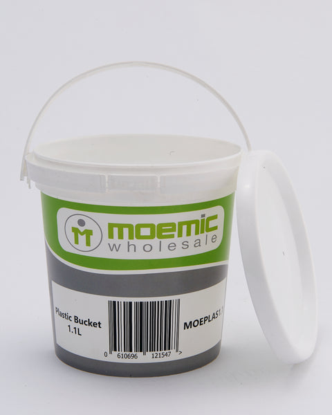 Moemic Barcoded Plastic Pail