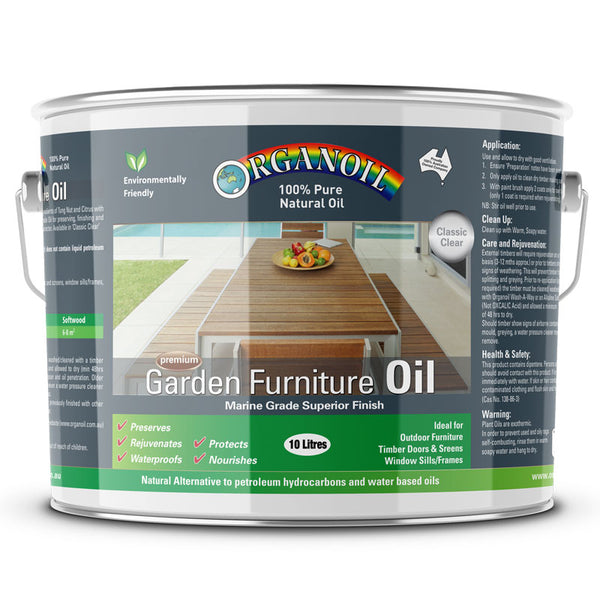 Organoil Garden Furniture Oil