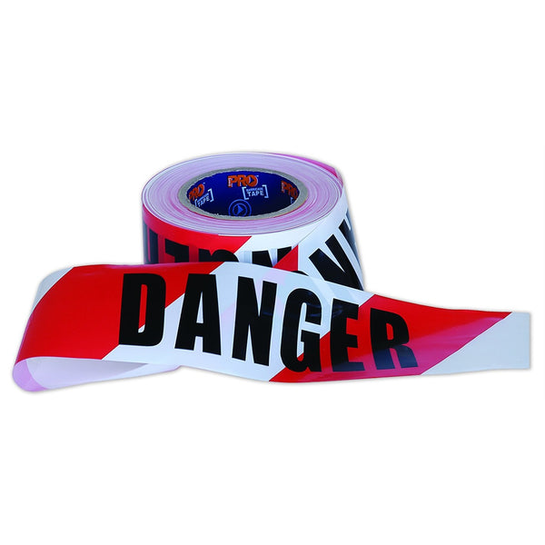 PRO CHOICE DANGER BARRICADE TAPE 100M - Barrier Tapes - Best Buy Trade Supplies Direct to Trade