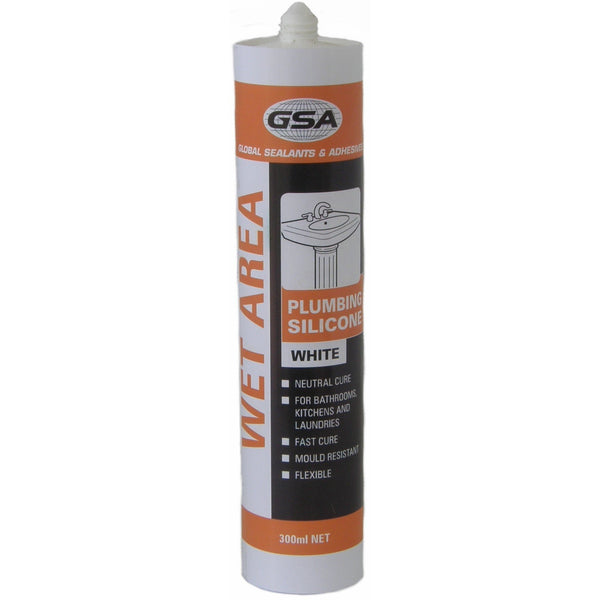 GSA Wet Area Silicone - Glues & Adhesives - Best Buy Trade Supplies Direct to Trade