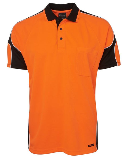 JB's HI VIS 4602.1 S/S ARM PANEL POLO - Hi Vis Clothing - Best Buy Trade Supplies Direct to Trade